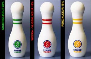 Bowling pohár 4 cl röviditalokhoz képe