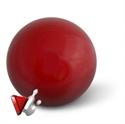 Teke golyó Aramith vörös 160 mm képe