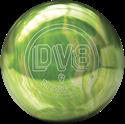DV8 MISFIT GREEN-WHITE kanyargolyó képe
