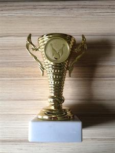 Kupa teke/bowling 11x5,5 cm es képe