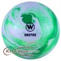Teke golyó zöld-fehér, szabványos méret képe